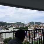 our room overlooking the patong area