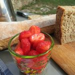 Amazing breakfasts, homemade breads and jams