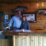Hosts and Owners of Angler's Lodge, Dave and DeDe