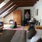 Spacious sunny room