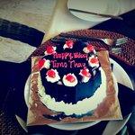 Surprise birthday cake !