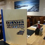 New inside, beautiful looking restaurant and takeaway to match the food!