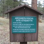 Archaeological Site Sign