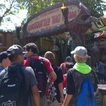 Entrance of Enchanted Tiki Room