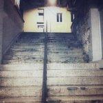 La descente d escaliers