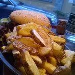 Burger Mystere et frites