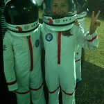 Дети на луне