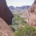 Beautiful view from atop The Olgas
