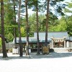古神道神学の基、火(日)を祀った火祥殿