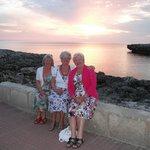 Sunset at Cala B lanca Menorca