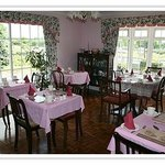 Dining room (love the pink)