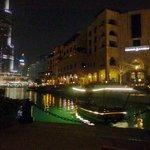 Scenic View of Dubai Water Fountains