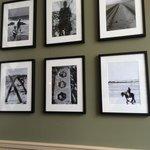 Nice photos on the wall