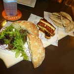 Halloumi and breads