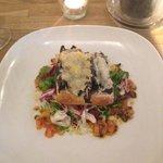 Starter - Mushroom bruschetta