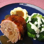 SPECIAL- Bacon Wraped Meatloaf