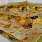 SPECIAL- Chix,Blackbean,Corn Quesadilla