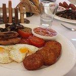Delicious English breakfast!