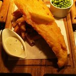 Fishy Fridays - 2 Fish and a Bottle of House Wine Only £14.95
