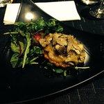 Tarte tatin foie gras et truffes