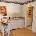 kitchen area garden suite