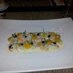aragosta marinata agli agrumi