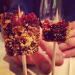#7 of 9 iced red wine lollipops