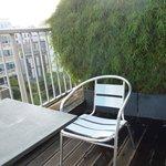 La terrasse de la chambre 405
