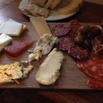 Our version of the large cheese board