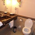 la salle de bain suite