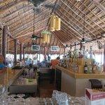 Main bar next to beach (The Hub)