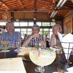 Colleagues enjoying a Margarita