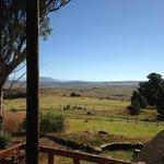 uitzicht op Drakensbergen
