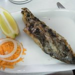 A type of Portuguese local grilled fish