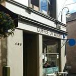 Coffee on Wooer (entrance actually on Tollboth Street arguably Britain's shortest street)