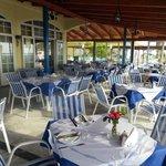 O Milos restaurant Ammes Beach. Kefalonia.