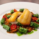 Ling with gnocchi