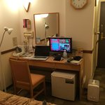 room (smallish but typical of Japan 'business hotel')