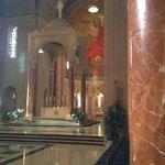 Near the altar