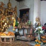 Buddha image in this stupa