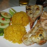 Best lobster and shrimp at shack next to resort!