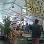 Beer stall