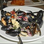 .. mussels...Before