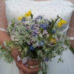 A bouquet of wild Wicklow flowers