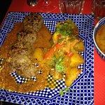 kefta et ses pommes de terre dorées