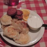 Perogies and Kulbasa - Friday special with Borscht Starter
