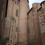 Palacio de la Berbier y entrada al Museo de Toulouse Lautrec