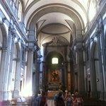 Chiesa di Santa Felicita, veduta interna