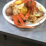 Steam crab pot!! With potatoes, corn and sausage!!