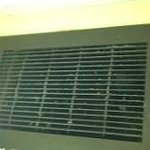 dirty bathroom vent
